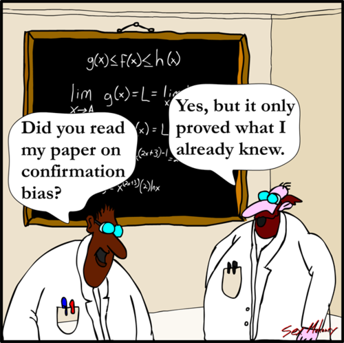 Writing Conflict And Confirmation Bias Kiralynblue